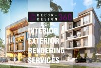 Design360 for 3DRendering services,interior design,exterior design