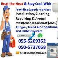 split ac free check 055-5269352 uae repair new used gas room service