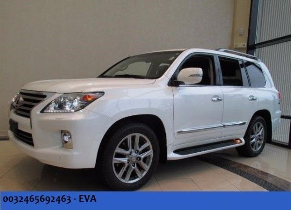 2015 Lexus LX570 Gcc Specifications