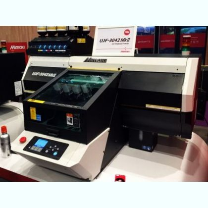 Mimaki UJF-3042 MkII Flatbed Inkjet UV-LED Printer