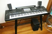 For sell Yamaha Tyros 5 Keyboard/Playstation 4 500GB